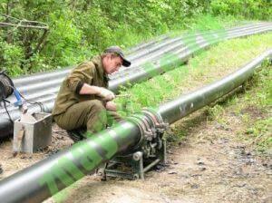 Выбор труб и монтаж водопровода из ПНД.