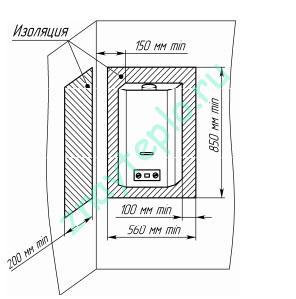 Проточные и накопительные газовые водонагреватели.