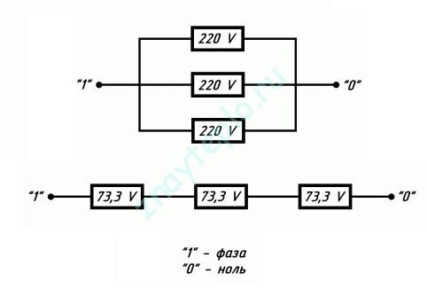 Как подключить ТЭНы электрического котла.