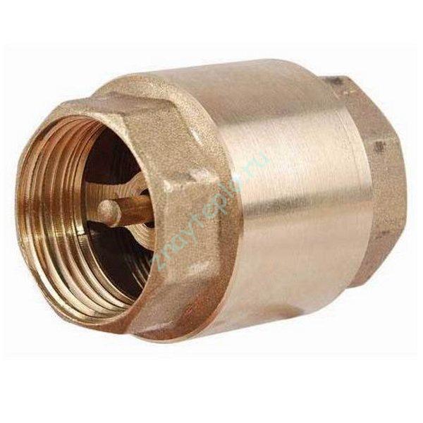 Как устроен обратный клапан?