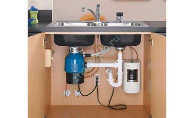 Устройство кухонного канализационного насоса.