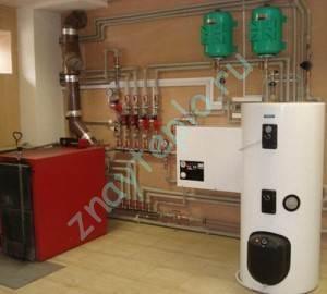 гидроаккумулятор для отопления.