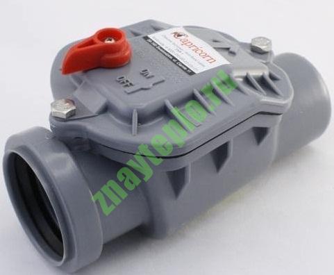 Для чего нужен обратный клапан в канализации?