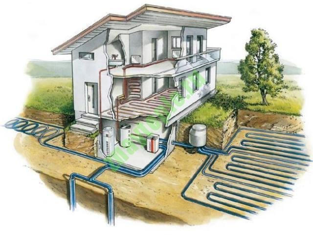 Альтернативное отопление для коттеджа или частного дома.