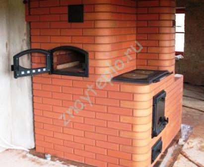 Печное отопление для коттеджа или частного дома.