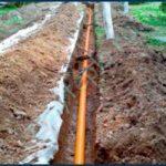 Наружная канализация из НПВХ или полипропилена
