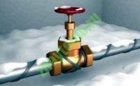 Саморегулирующийся греющий кабель для обогрева труб